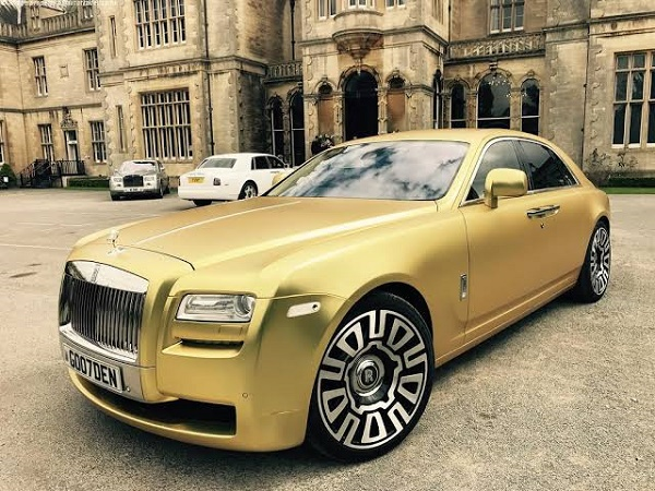 Golden-Rolls-Royce