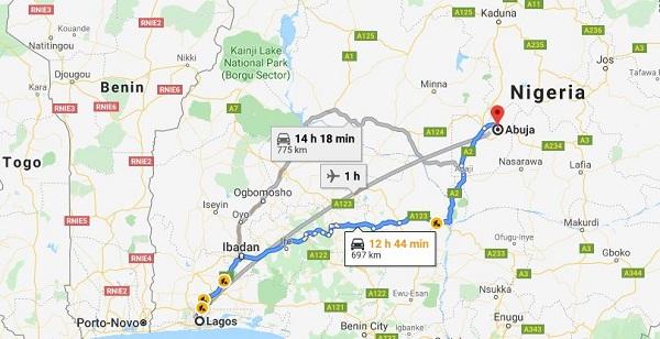 image-of-lagos-to-abuja-map