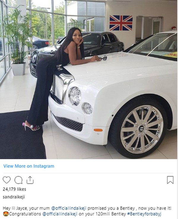 linda-ikeji-bentley