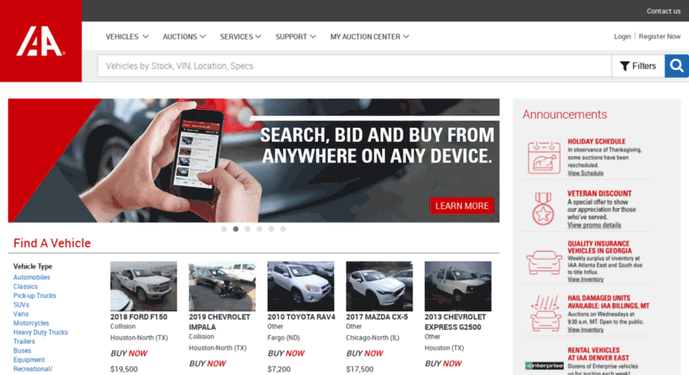 Iaai Houston North >> Step By Step Guide On How To Buy Cars From Iaai To Nigeria