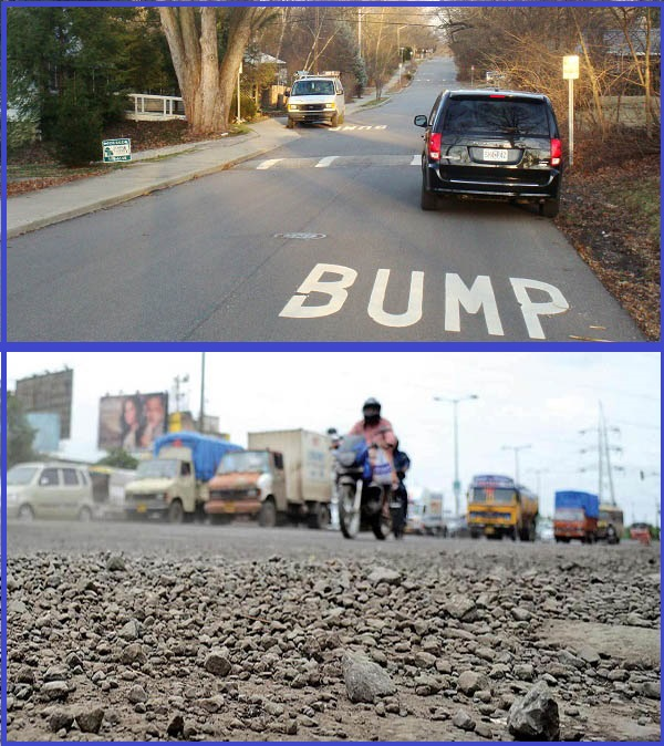 Road-with-bumps