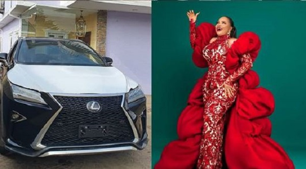 image-of-abimbola-afolayan-car-gift-on-birthday-from-okiki