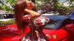 Playboy model & Neymar's Ex-girlfriend Soraja Vucelic crashed her Lambo into swimming pool