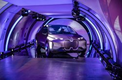BMW Vision iNext concept SUV unveiled in one-off event on Lufthansa plane