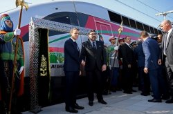 French President Opens Africa's Most Expensive High-Speed Rail Line in Morocco
