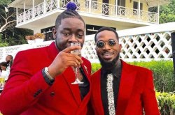 Producer CheekyChizzy surprised by Dbanj with a new Range Rover SUV