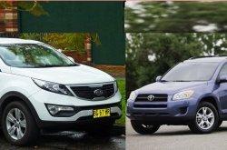 Comparison review: 2010 Kia Sportage vs 2010 Toyota RAV4