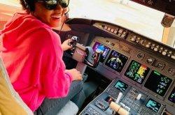 Does Regina Daniel own a private jet?