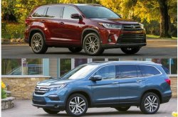 Honda Pilot vs Toyota Highlander: The better crossover?