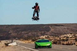 "Get a ₦90m Flyboard Air to fly like ""Iron Man"", you can outrun a Lamborghini Huracan!"