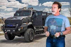Arnold Schwarzenegger 'The Terminator' amazing car collection