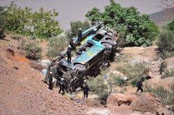Tragic bus crash on mountain road in Peru kills 19, injures 8