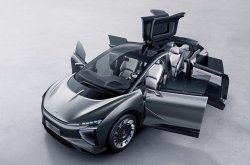 Human Horizon - Chinese EV startup launched SUV with Rolls-Royce suicide doors & gullwing