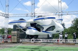 Japanese flying car successfully hovers steadily in test flight