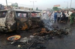More than 20 people burnt to death in Bauchi car crash