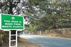 """""""Plastic Roads"""" could be the best solution to common problems on Nigeria roads"""