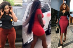 Curvy Destiny Etiko gets Mercedes-Benz as birthday gift from an anonymous Samaritan