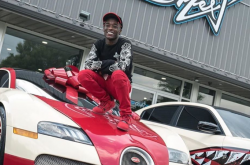 Lil Uzi acquires a ₦618 million Bugatti Grand Sport previously owned by Floyd Mayweather