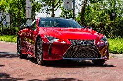 Prepare to kneel down before this seductive 2019 Lexus LC500 luxury sports coupe!