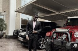 Peter Okoye flaunts exotic cars on the gram, says he's doing better