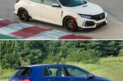 2019 Honda Civic Type R vs 2019 Volkswagen Golf R: Hottest hatches comparison