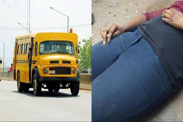 Nigerian lady dies on the spot while alighting from Lagos bus