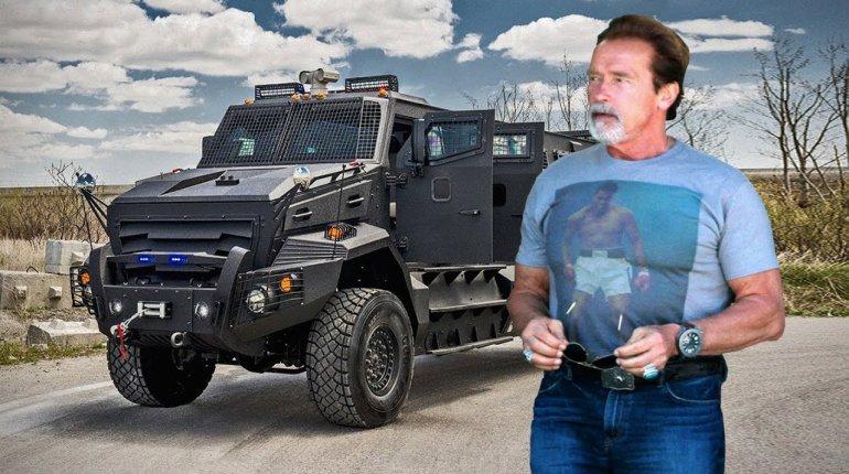 Arnold Schwarzenegger 'The Terminator' amazing car collection