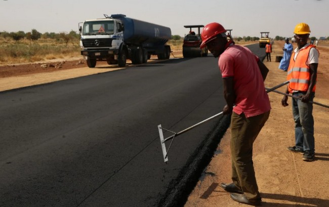 What is the cost of road construction in Nigeria?