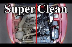 How to clean the car engine bay at home
