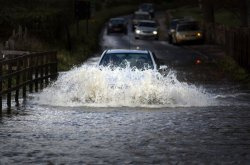 Things to look for when driving through flooded areas