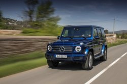 The new Mercedes Benz G-Class: symbolic off-roader now in Nigeria