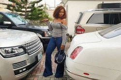 Linda Ikeji cars cause her headache everyday