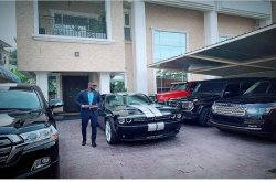 Peter Okoye cars shown off in new photos