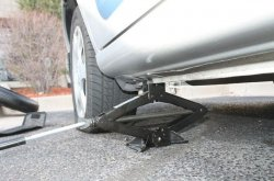 A quick guide to changing your flat tyre