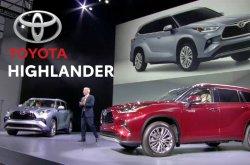 2020 Toyota Highlander sitting on Toyota's new platform with plethora of upgrades