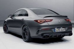Check out leaked pictures of the 2020 Mercedes Benz AMG CLA45