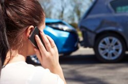 If you witness an accident, what should you do?