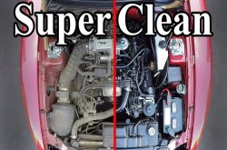 Cleaning the car's engine – are there mechanical benefits of doing that?