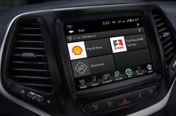Uconnect Market by Fiat Chrysler helps make reservations and purchases in car