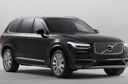 4.5 tonnes Volvo XC90 SUV capable of stopping bullets and withstanding explosives