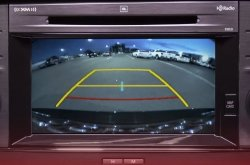 Purposes of the coloured lines on Toyota backup camera