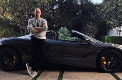 Fast and Furious movie star, Jason Statham, rides McLaren 720S to 'Hobbs and Shaw' premier