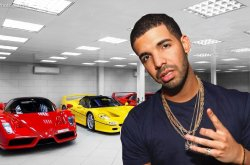 Canadian-born hip-hop King! Check out expensive cars in Drake's collection