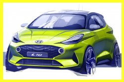 Next-gen Hyundai i10 City car teased ahead of Frankfurt debut