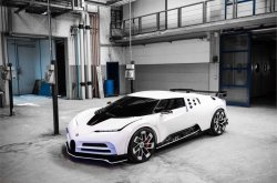The new Bugatti EB110 Super Sport Hommage has been revealed, known as Centodieci