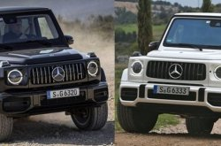 Mainstream 2019 Mercedes-Benz G550 vs Luxury 2019 Mercedes-AMG G63