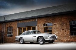 James Bond 1965 Aston Martin DB5 sells for an estimated ₦2.3 billion at auction