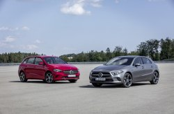 Mercedes-Benz A250e and B250e revealed with plug-in hybrid powertrain