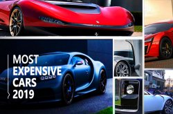 Top 10 world's most expensive cars of 2019