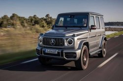 """World's most desirable SUV"" goes to Mercedes-AMG G63"